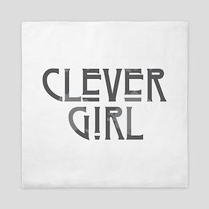 Clever Girl Queen Duvet