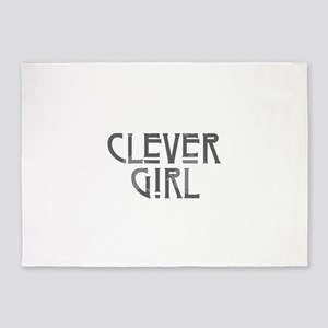 Clever Girl 5'x7'Area Rug