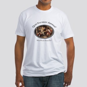 What Would Aeneas Do? Fitted T-Shirt