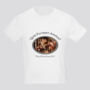 What Would Aeneas Do? Kids Light T-Shirt