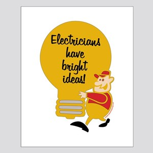 Electricians Small Poster