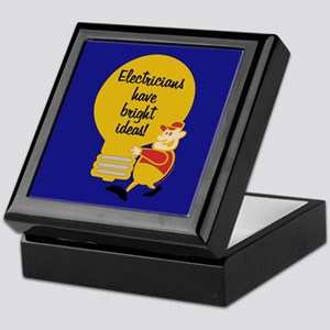 Electricians Keepsake Box