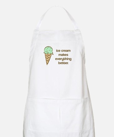 Ice Cream makes everything be BBQ Apron