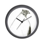 Grey Stag Wall Clock