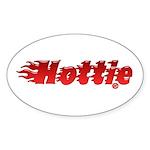 Hottie Oval Sticker (10 pk)