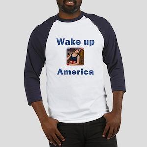 Wake Up America Baseball Jersey