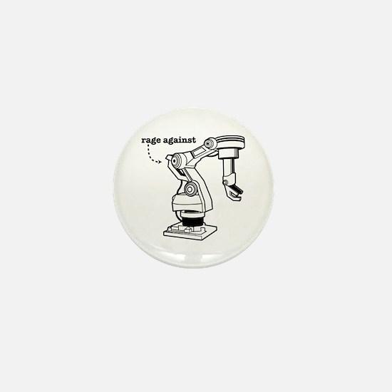 Rage Against Mini Button