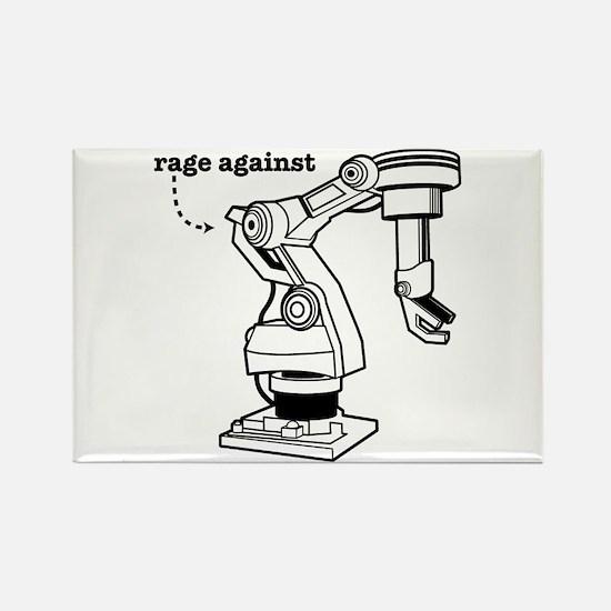 Rage Against Rectangle Magnet
