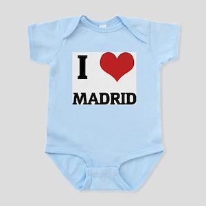 I Love Madrid Infant Creeper