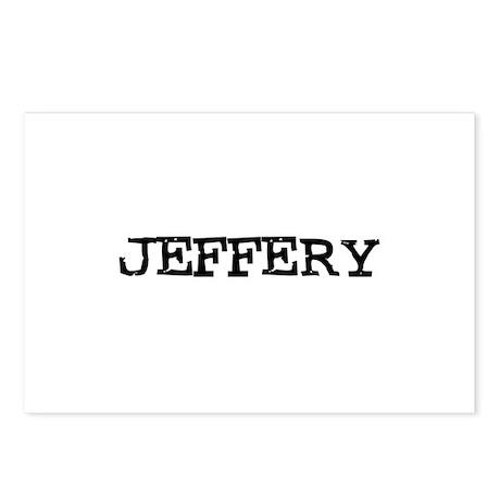 Jeffery Postcards (Package of 8)