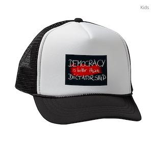 Dictatorship Kids Trucker Hats - CafePress 9c4a908b456