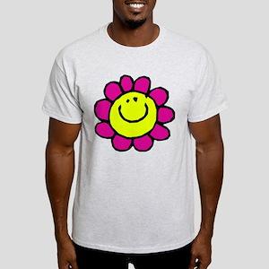 Smiling Flower Light T-Shirt