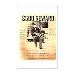 Clyde Barrow Mini Poster Print