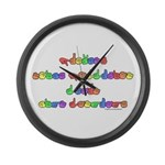 Prevent Noise Pollution Large Wall Clock