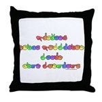 Prevent Noise Pollution Throw Pillow