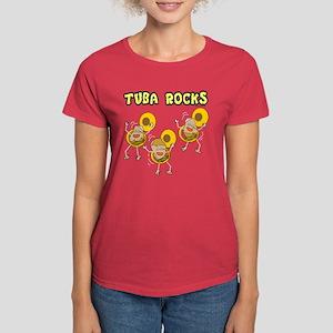 Tuba Rocks Women's Dark T-Shirt
