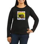 Wyoming Women's Long Sleeve Dark T-Shirt