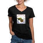 Hawai'i Women's V-Neck Dark T-Shirt