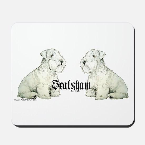 Sealyham Terrier Dog Portrait Mousepad