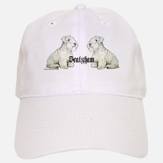 Sealyham Terrier Dog Portrait Baseball Baseball Cap