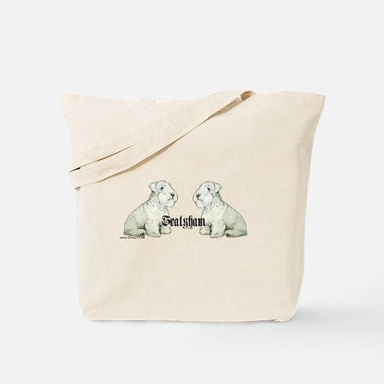 Sealyham Terrier Dog Portrait Tote Bag