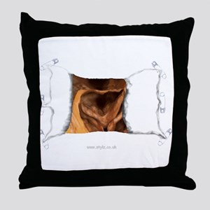 Other Gifts - sgusting Orific Throw Pillow