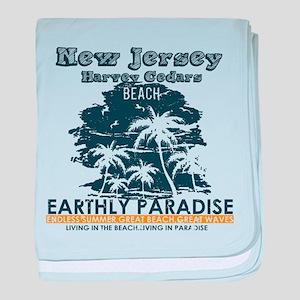 New Jersey - Harvey Cedars baby blanket