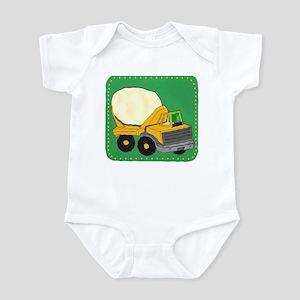CEMENT TRUCK Infant Bodysuit