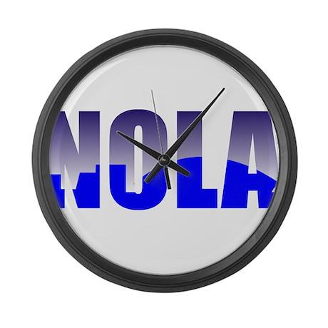 NOLA Large Wall Clock