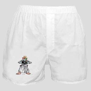 Bad Jester Cop Artwork on Boxer Shorts