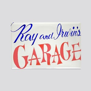 Ray and Irwin's Garag Rectangle Magnet