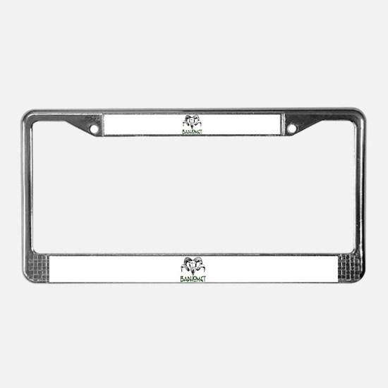 BAPHOMET SKULL License Plate Frame