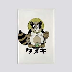 Tanuki Rectangle Magnet