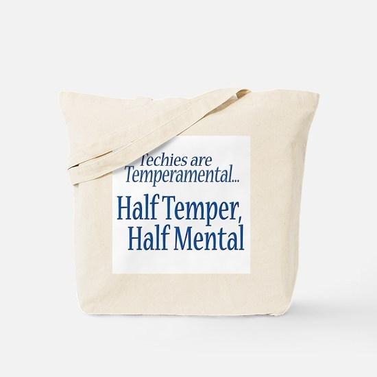 Temperamental Techie Tote Bag