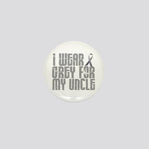 I Wear Grey For My Uncle 16 Mini Button