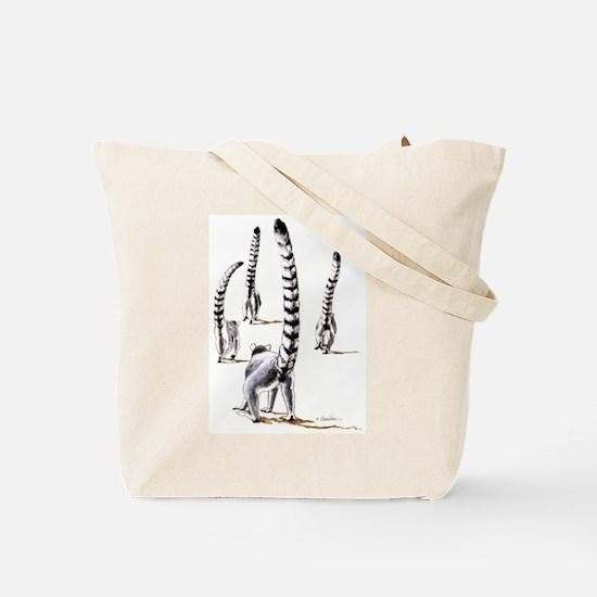 Ring-Tailed Lemur Ssp Tote Bag