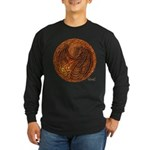 Lunus Mural Long Sleeve Dark T-Shirt