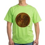 Lunus Mural Green T-Shirt