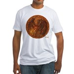 Lunus Mural Fitted T-Shirt