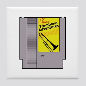 Super Trombone Adventures Tile Coaster