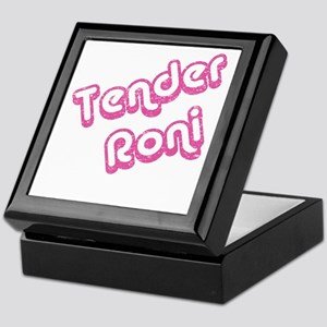 Tender Roni Keepsake Box