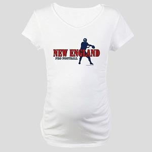New England Football Maternity T-Shirt