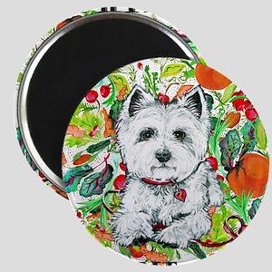 Earth Dog Westhighland Terrier Magnet