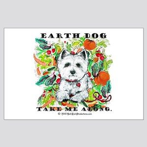 Earth Dog Westhighland Terrier Large Poster