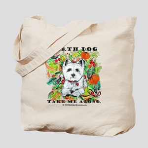 Earth Dog Westhighland Terrier Tote Bag