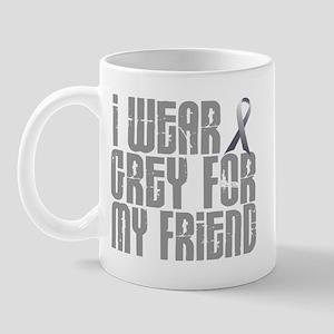 I Wear Grey For My Friend 16 Mug