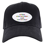 Prevent Noise Pollution Black Cap