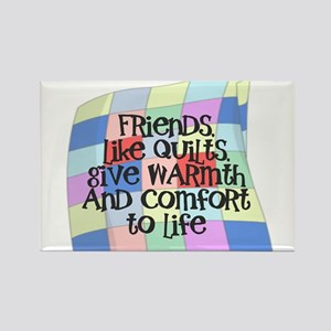 FRIENDS/QUILT: WARMTH COMFORT Magnets