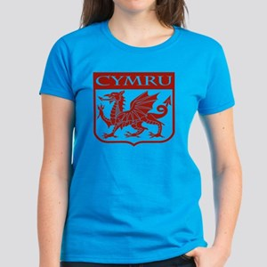 CYMRU Wales Women's Dark T-Shirt