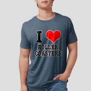 I Heart (Love) Roller Coasters T-Shirt